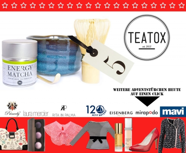 der gro e blogger adventskalender 2013 mein 5 t rchen mit teatox les attitudes fashion. Black Bedroom Furniture Sets. Home Design Ideas